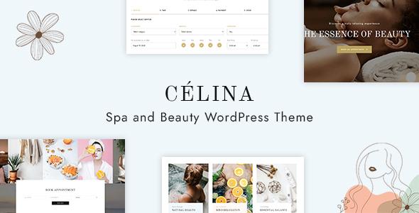 Célina - Spa and Beauty WordPress Theme