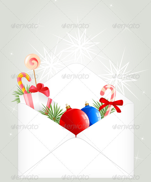 Christmas Envelope - Christmas Seasons/Holidays