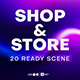 20 Shop and Store Scenes - VideoHive Item for Sale