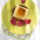 Raspberry flavored vanilla pudding is flat yellow - PhotoDune Item for Sale