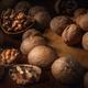 walnuts on a dark background - PhotoDune Item for Sale