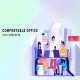 Comfortable office - Flat Concept - VideoHive Item for Sale