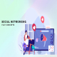 Social networking - Flat Concept - VideoHive Item for Sale