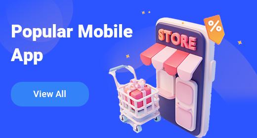 Popular mobile app