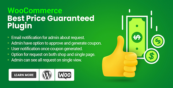 Best Price Guaranteed Plugin For WooCommerce