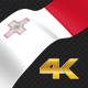 Long Flag Malta - VideoHive Item for Sale