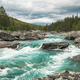 Turquoise River in Vestland County of Norway - PhotoDune Item for Sale