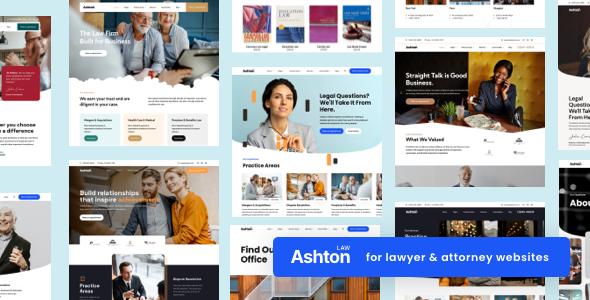 Ashton | Lawyer Attorney Law Consulting WordPress