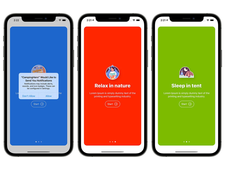 Camping Hero App | SwiftUI Full iOS Application - 3