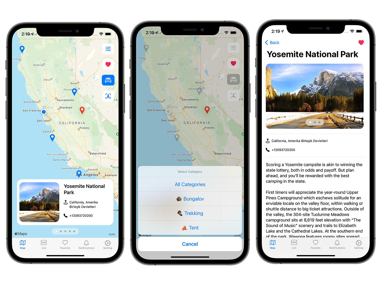 Camping Hero App | SwiftUI Full iOS Application - 4