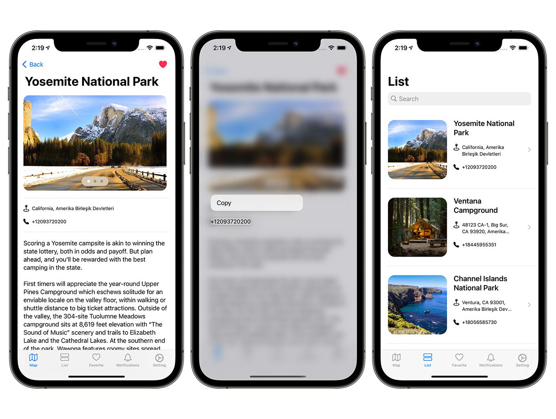 Camping Hero App | SwiftUI Full iOS Application - 5