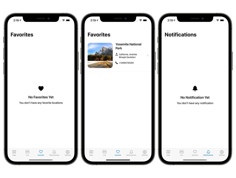 Camping Hero App | SwiftUI Full iOS Application - 6