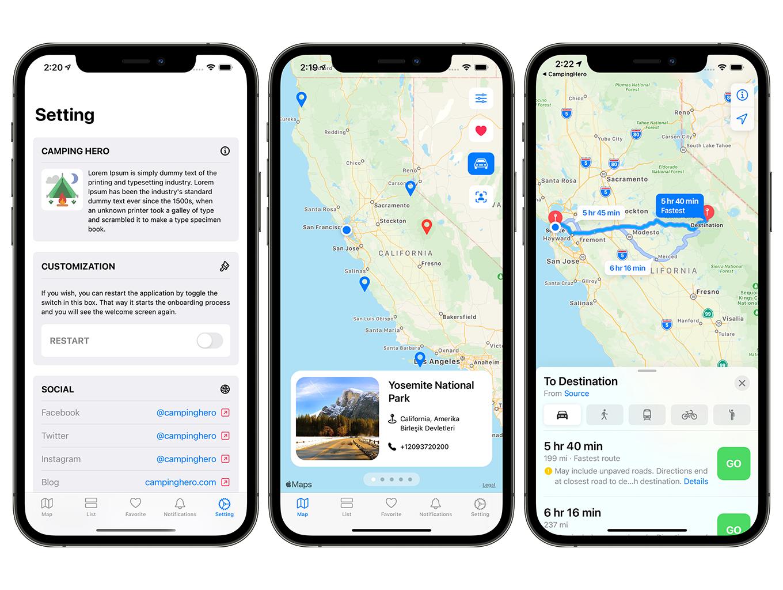 Camping Hero App | SwiftUI Full iOS Application - 7