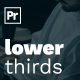 Lower Thirds for Premiere Pro - VideoHive Item for Sale