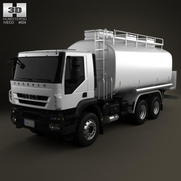 Iveco Trakker Fuel Tank Truck 3-axis 2012