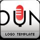 Sound Mic Logo Template