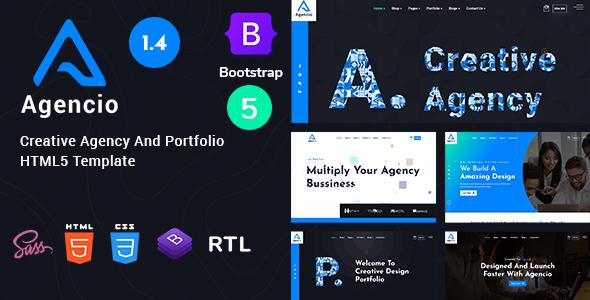 Fabulous Agencio - Creative Agency And Portfolio HTML5 Template