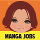 Manga Girl Job Collection - GraphicRiver Item for Sale