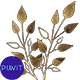 Gold Floral Elements - VideoHive Item for Sale