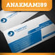 Modern Technology Business Card - GraphicRiver Item for Sale