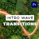 Intro Wave Transitions for Premiere Pro - VideoHive Item for Sale