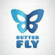 Butterfly Simple Logo - GraphicRiver Item for Sale