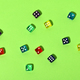 Colorful dice - PhotoDune Item for Sale