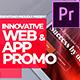 Innovative App & Web Promo Premiere Pro - VideoHive Item for Sale