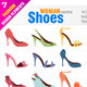 Woman Shoes  - GraphicRiver Item for Sale