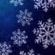 Christmas Snowflakes Blue Background - VideoHive Item for Sale
