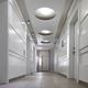 White hallway architectural indoor design detail - PhotoDune Item for Sale