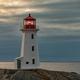Travel destination Peggys Cove Lighthouse Nova Scotia Canada - PhotoDune Item for Sale
