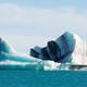 Jokulsarlon lagoon dirty glacial Iceberg Iceland - PhotoDune Item for Sale