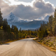 Stewart Cassiar Highway 37 in fall BC Canada - PhotoDune Item for Sale