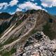 High altitude mountain landscape under blue sky - PhotoDune Item for Sale
