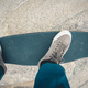 Skateboarder riding on skateboard outdoors in city - PhotoDune Item for Sale