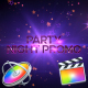 Party Night Promo - Apple Motion - VideoHive Item for Sale