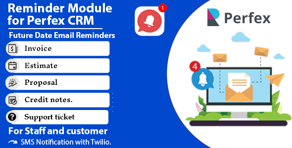 Download Reminder module for Perfex CRM Free Nulled