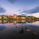 Augusta, Maine, USA downtown skyline on the Kennebec River. - PhotoDune Item for Sale