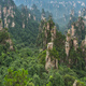 Stone pillars of Tianzi mountains in Zhangjiajie - PhotoDune Item for Sale