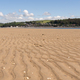 Panoramic image of sand in LLansteffan beach in southern Wales - PhotoDune Item for Sale