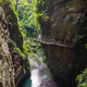 Cliff path in Wulong National Park - PhotoDune Item for Sale