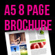 A5 Brochure Fresh themed 8 page layout - GraphicRiver Item for Sale