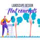 Landscape design - Flat Concept - VideoHive Item for Sale