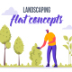 Landscaping - Flat Concept - VideoHive Item for Sale