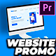 Dynamic & Clean Website Promo Video Premiere Pro - VideoHive Item for Sale