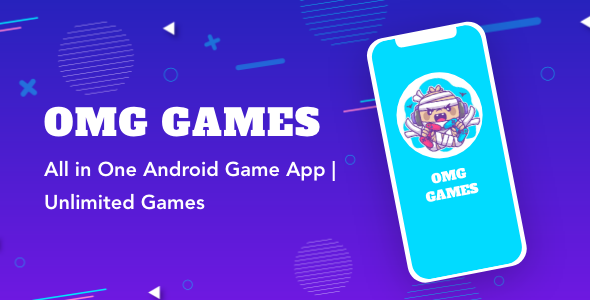 OMG Games - All in One Game App | AdMob | Unlimited Games | Android