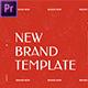 New Brand Presentation // Premiere Pro - VideoHive Item for Sale