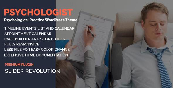 Fabulous Psychologist - Psychological Practice WP Theme