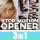 Stop motion Opener - VideoHive Item for Sale